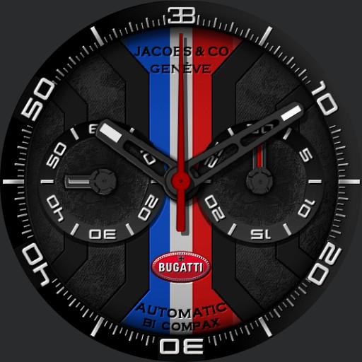 Orilama watch 117 Bugatti