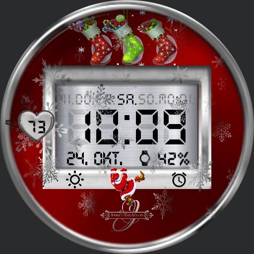 Christmas Nikolaus Digi Englisch