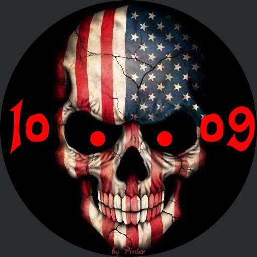 US skull 2