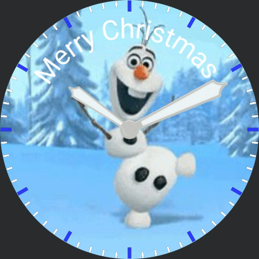 Christmas Olaf - plwren