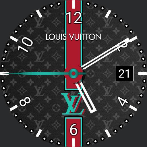 LV Louis Vuitton Color Changing Watch Face