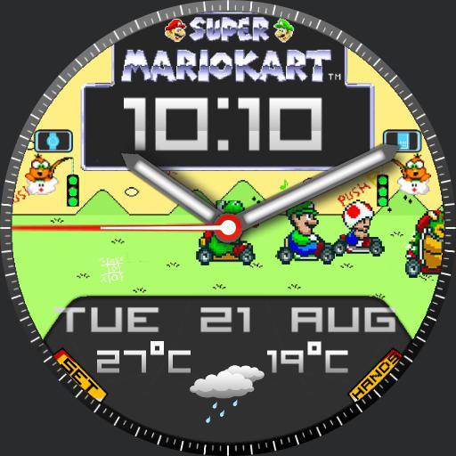 Mario kart vintage  2