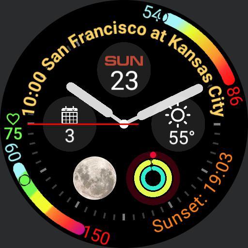 Apple Watch 4 circle