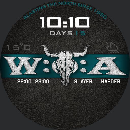 WOA Running Order