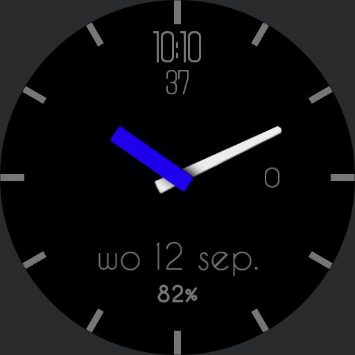 3.1% OPR Black and blue watch