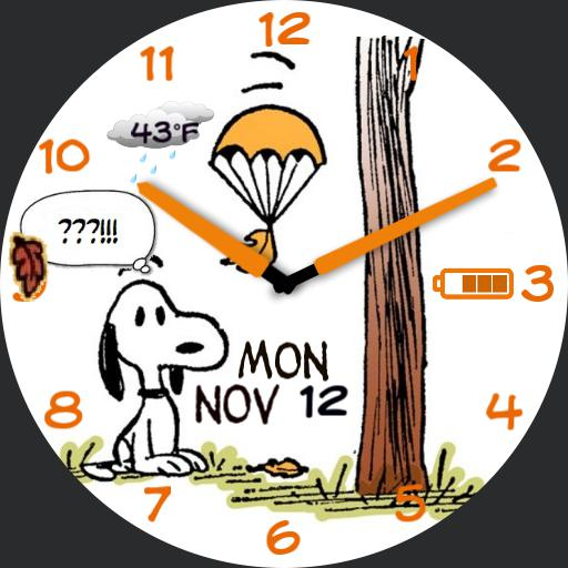 Snoopy Fall