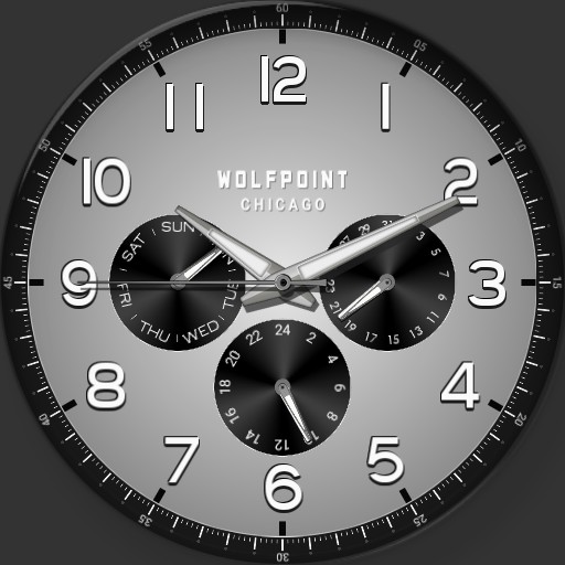 Wolfpoint Chicago - Fort Dearborn - Space Gray