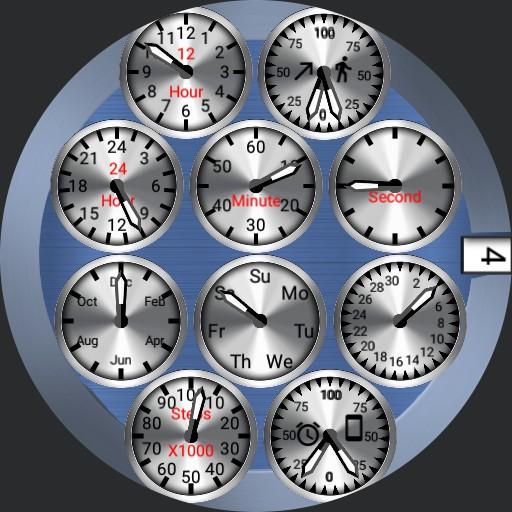 Dials watch 2 b4