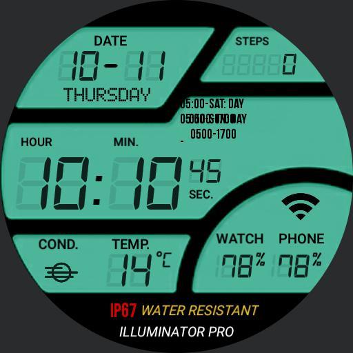 Huawei digital calendar steps weather Copy