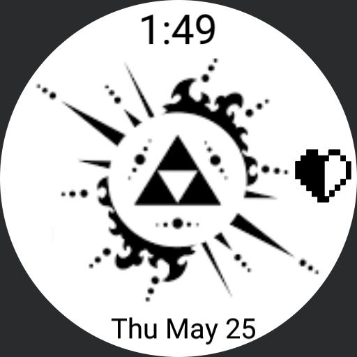 Zelda mono-triforce