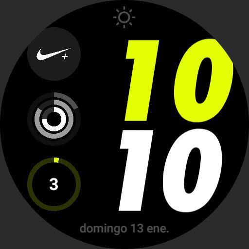Nike Apple watch yellow geeceejay