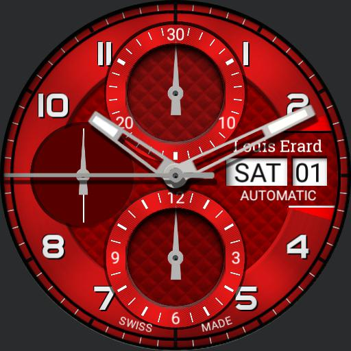 red clock swiss