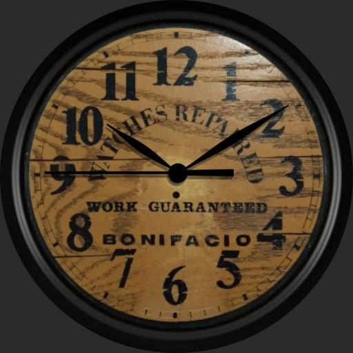 Bonifacio Wallclock
