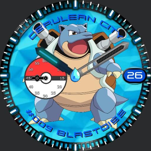 """Pokemon Watch """"Blastoise"""""""