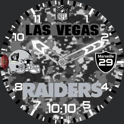 Las Vegas RAIDERS watch face