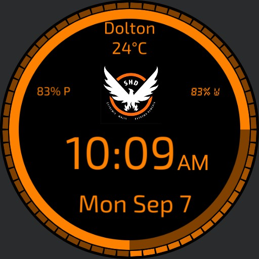 The Division orange