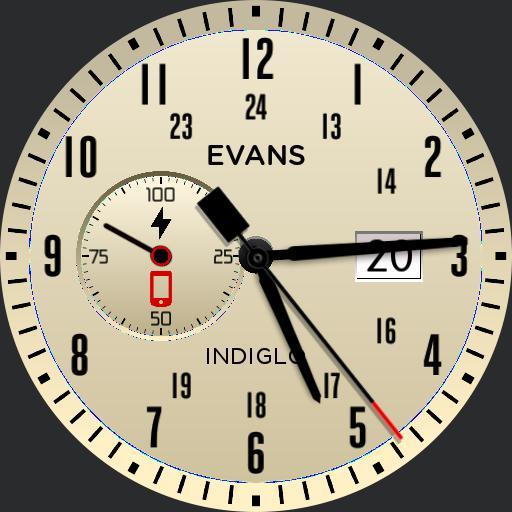 Basic Timex-like Watchface