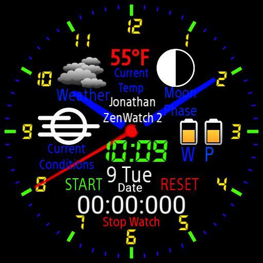 classic multi watch