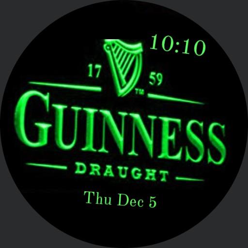 Guinness green