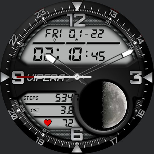 My 1st attempt to create a Digital Watch Face
