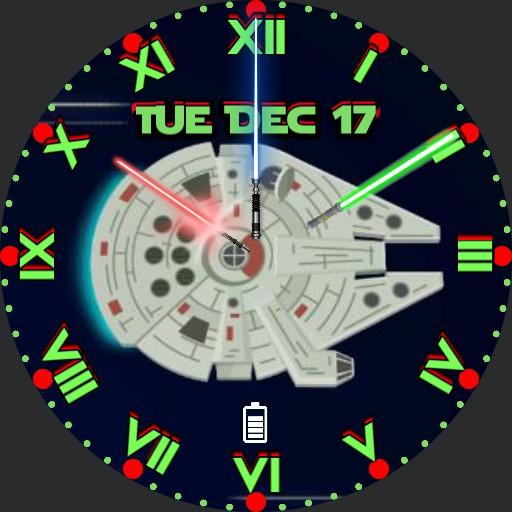 Star Wars M. F.2 Round Face