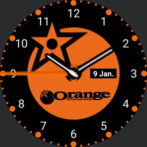 Orange MTB