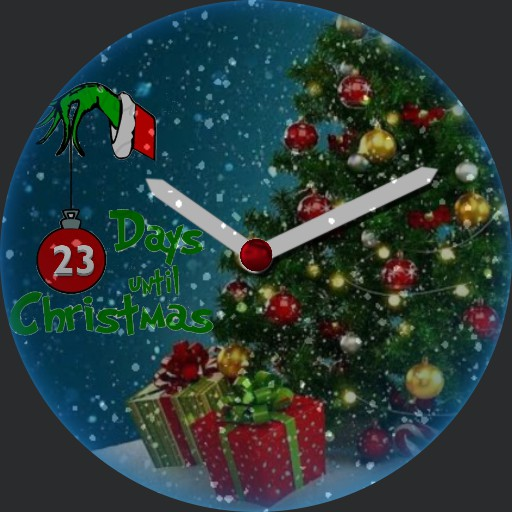 count down to xmas