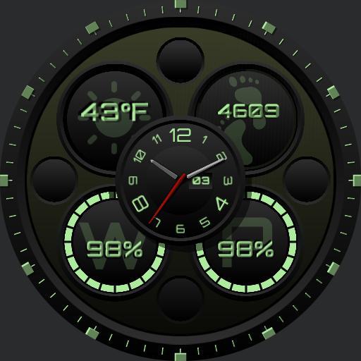 Ucolor Analog Digital Green