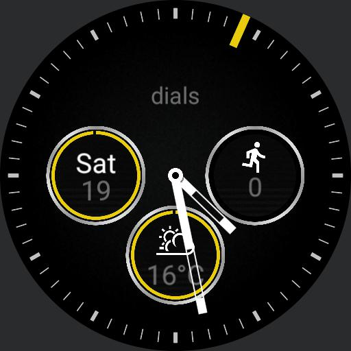 Dials extended