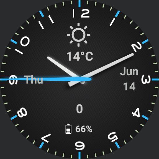 Android Sport Blue v1.01 - SteveNoTap