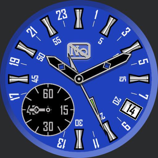 No GMT Blue Zoom