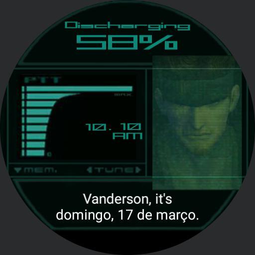 MGS2 Snake Codec Vanderson Copy