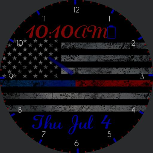 Thin Blue Red Line Basic