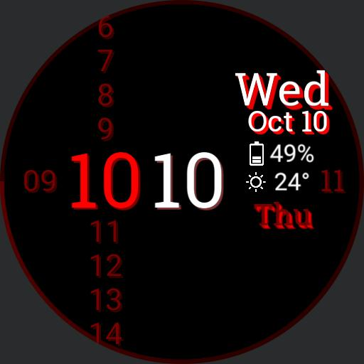 simple text watch