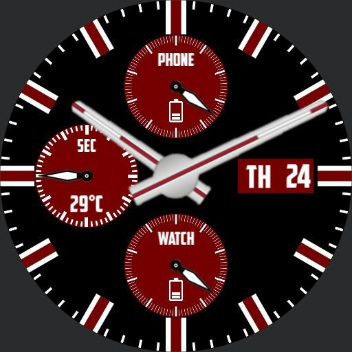 Chrono red and black  V2