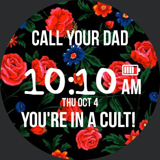 Call Your Dad Red Rose