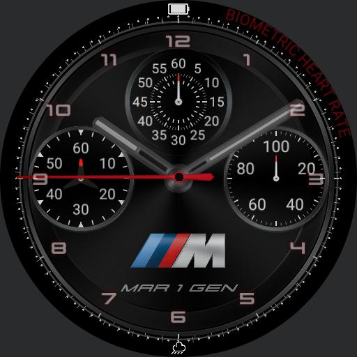 BMW m sport crono digital