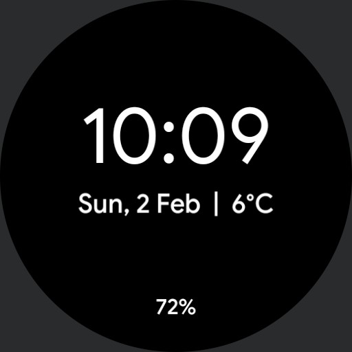 Pixel Watch Face
