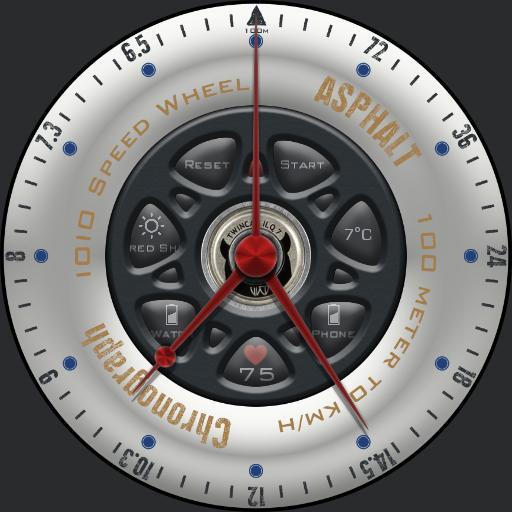 Asphalt Chronograph
