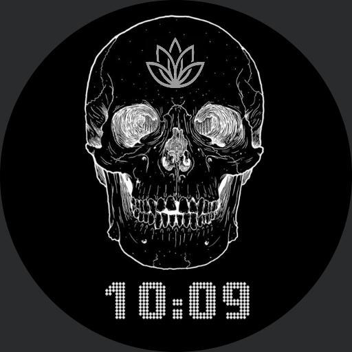 Skull Lotus Stopwatch