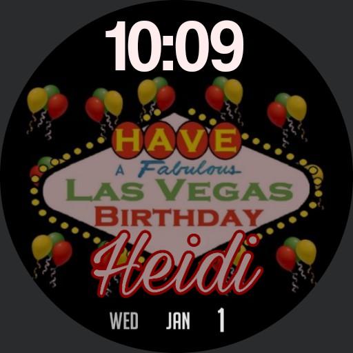 Heidi Vegas Bday 2