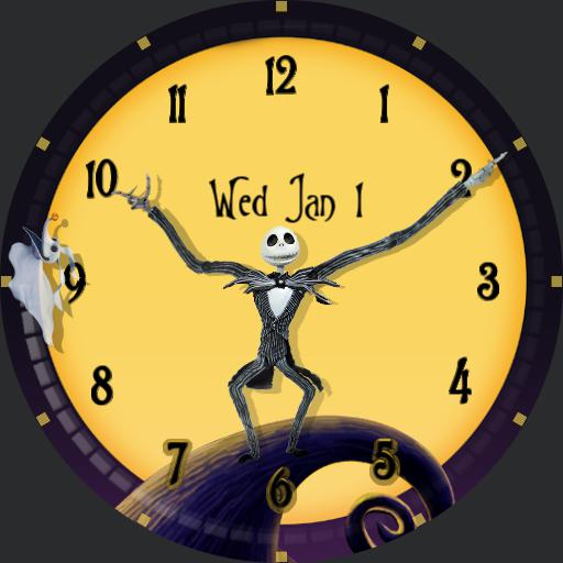 Nightmare Before Christmas  - Square watch face