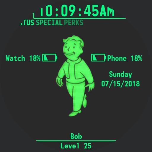 Fallout 4 Pip-Boy Watch Square