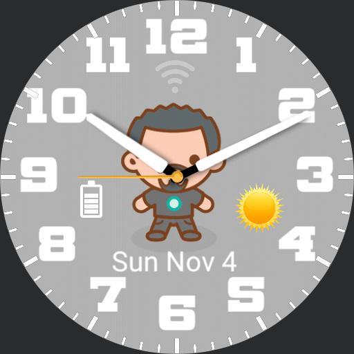 Ben Ironman1 WatchFace