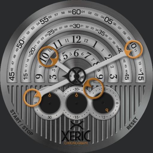 Xeric Halograph Sapphire Gunmetal- Orange
