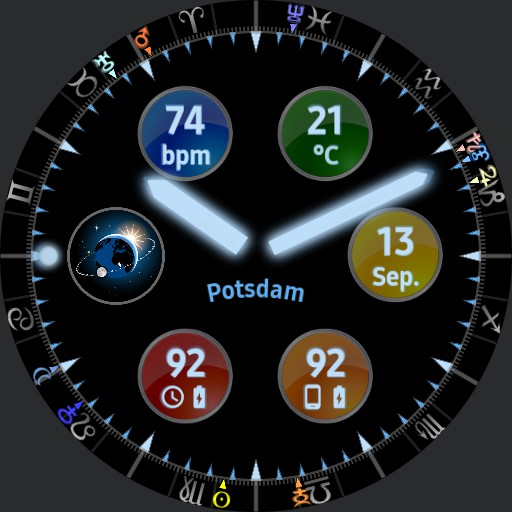 The Astronomical Watchface