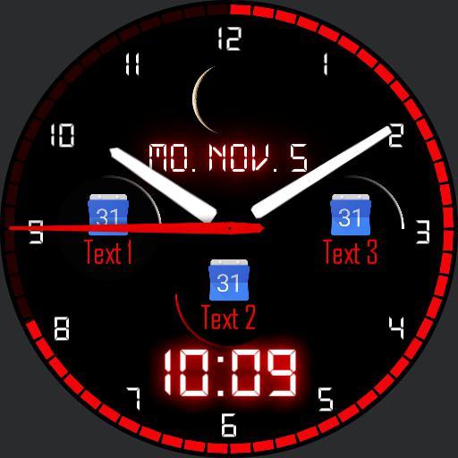 New Watch 2 mit Sunrise und Sunset time im Dim-Modus