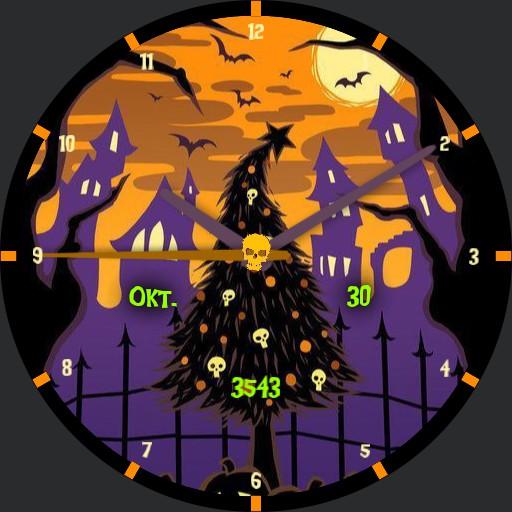 _halloween scene by gaugaugexi
