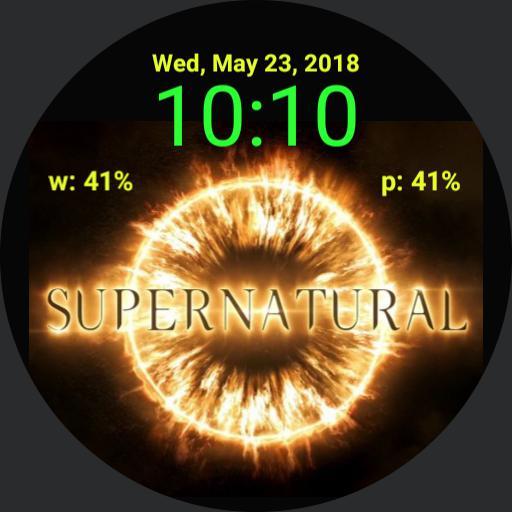Supernatural 13 logo digital