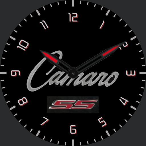 Camaro Script numbers